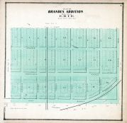 Erie City - Brandes Addition, Erie County 1865